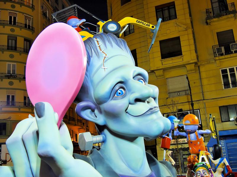 Las Fallas Festival – Valencia