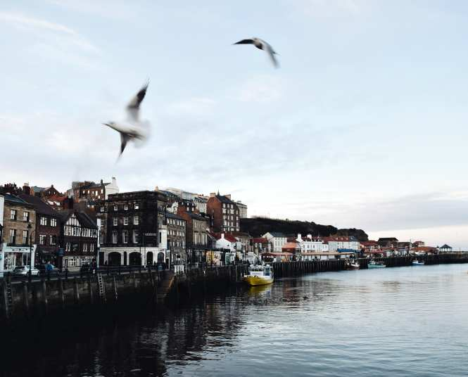 Whitby Harbour, North Yorkshire coast
