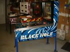 Black Hole Pinball Machine Four Player from 1981 By Gottlieb