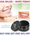 100 ORGANIC COCONUT ACTIVATED CHARCOAL NATURAL TEETH WHITENING POWDER USA VALUE