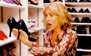 how much shoe collection cost carrie bradshaw