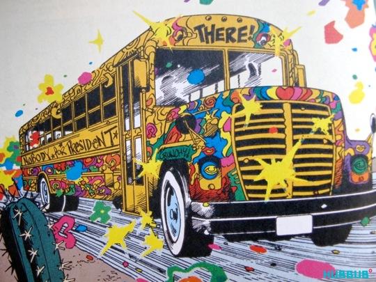 Doom Patrol's magic bus