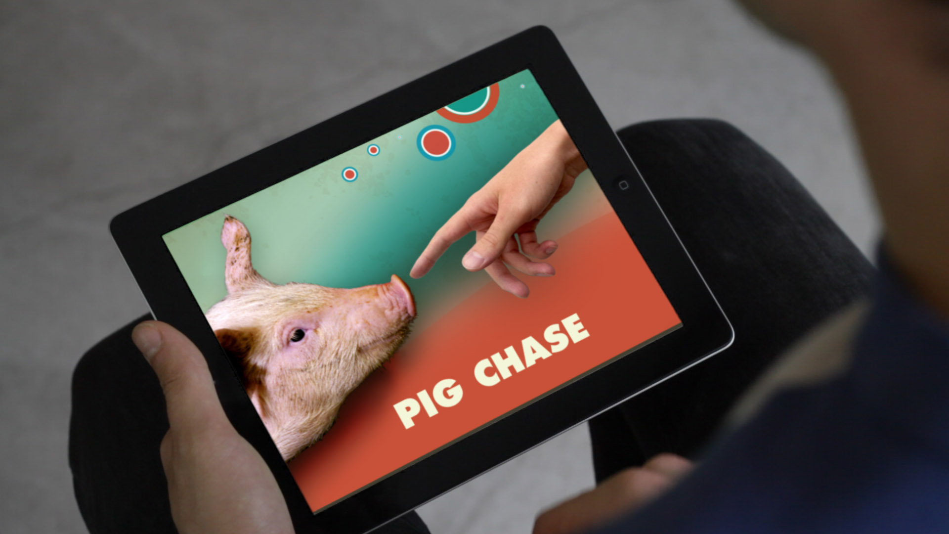 Pig Chase opening screen