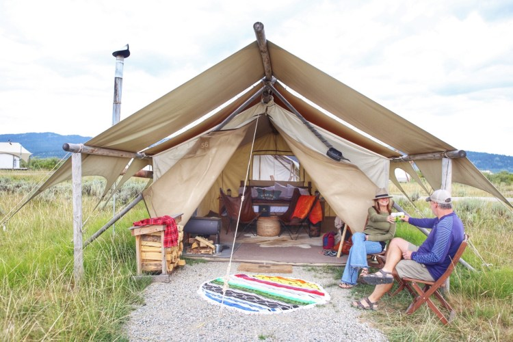 Glamping Yellowstone National Park Under Canvas
