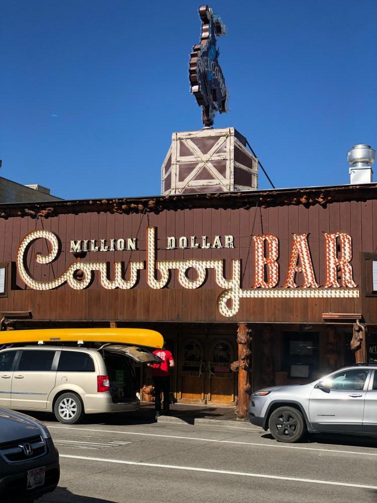 Cowboy Bar Jackson Wyoming