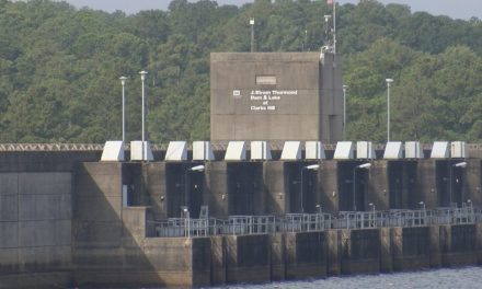 Army Corps of Engineers prepare J. Strom Thurmond Dam and Lake for impacts of hurricane Florence