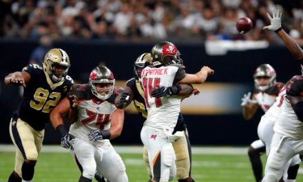 Saints' Onyemata fined $40.1K for 2 roughing passer calls