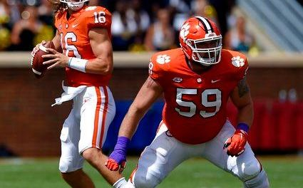 No. 2 Clemson's plays amid storm for 38-7 win vs Ga Southern