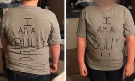 Mom makes son wear 'I am a bully' shirt to school