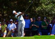 (AP Photo/John Amis). Tiger Woods tees off to the third hole during the second round of the Tour Championship golf tournament Friday, Sept. 21, 2018, in Atlanta.
