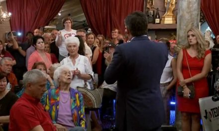 Ted Cruz confronted by mother of school shooting victim