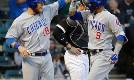 Cubs beat White Sox 8-3, inch closer to NL Central title