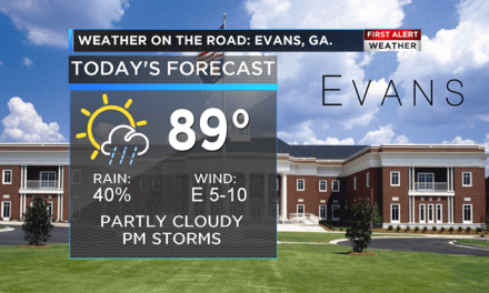 Weather on the Road: Evans