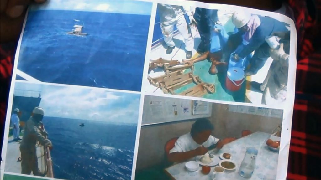 Indonesian teenager survives 49 days adrift at sea