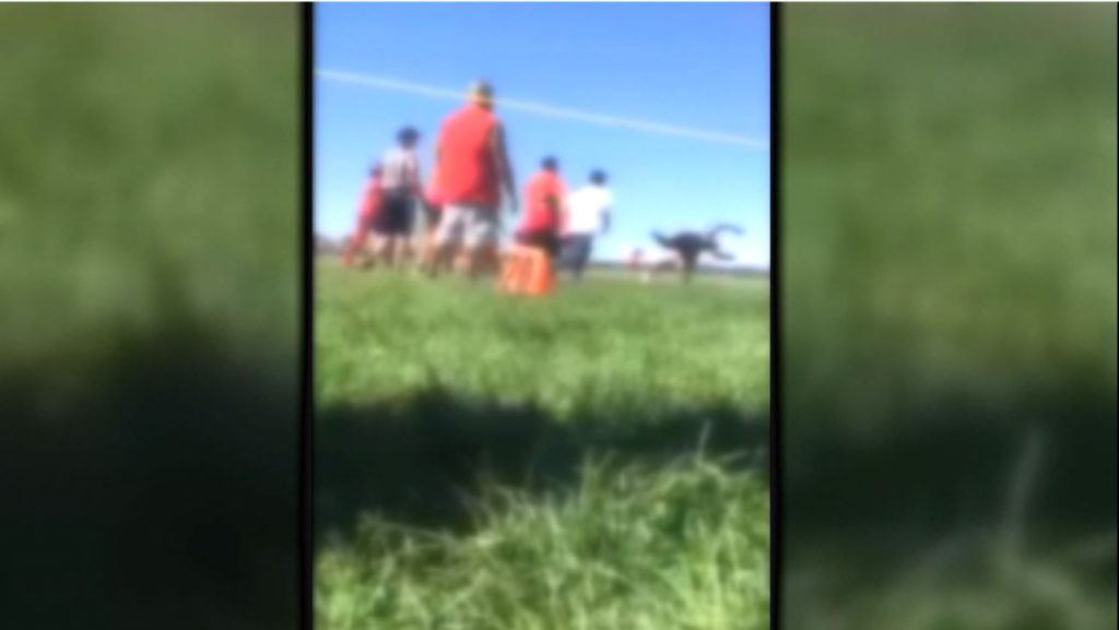 Parent body slams referee at youth football game