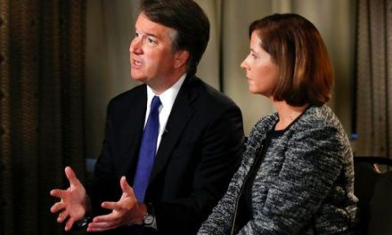 The Latest: Kavanaugh fending off 3rd accusation