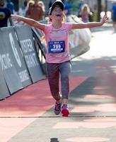 Children get moving at Ironkids fun run