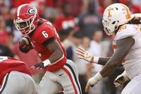 Georgia-Tennessee will play under the lights on Oct. 5