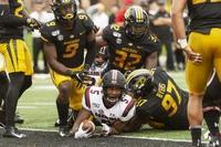 Missouri uses opportunistic defense to beat South Carolina 34-14