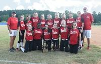 Harlem Middle School A-Team softball team brings home win