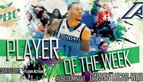 Darren Lucas-White Picks up Conference Honor