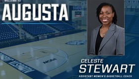 Celeste Stewart Named New Assistant Coach For Augusta Women's Basketball