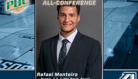 Monteiro Named to PBC All Conference Preseason Team