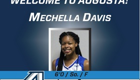Mechella Davis Joins Jaguars Women's Basketball