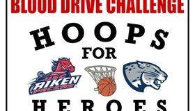 Hoops For Heroes Blood Drive Challenge Feb. 24