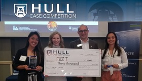 Augusta Women's Tennis Takes Top Prize at Hull College of Business Case Competition