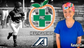 Kendyl Conner, former softball player, honored as a Peach Belt Conference Healthcare Hero