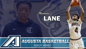 Augusta Women's Basketball Welcomes Michaela Lane for the 2020-21 Season