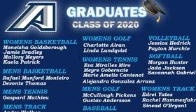 Congratulations to the Augusta University Athletics 2020 Graduating Class
