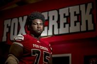 Augusta Chronicle 2020 Dream 16: Fox Creek OL Nick Williams