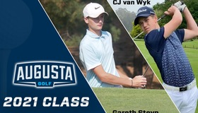 Men's Golf Welcomes CJ van Wyk and Gareth Steyn to the 2021 Class