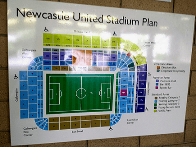 HeyWhatsupCourtney The Inside Of Newcastle United St James