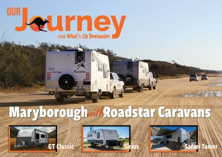 Our journey – maryborough with roadstar caravans