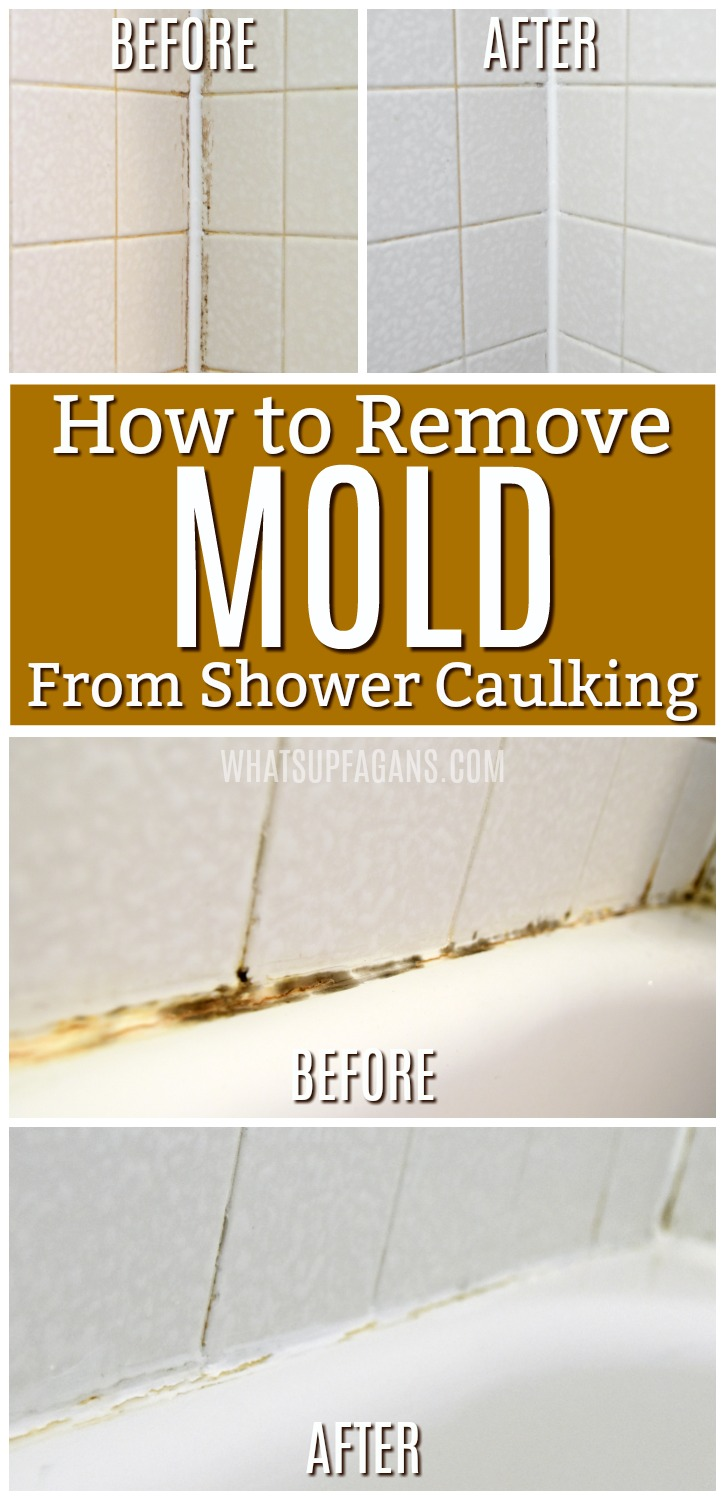 Bathroom Caulking How To Get Rid Of Black Mold In Your Shower Caulking