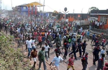 CONGO CONFLICT SPILLS OVER INTO RWANDA