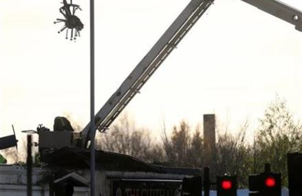 3 IN INTENSIVE CARE AFTER GLASGOW HELICOPTER CRASH