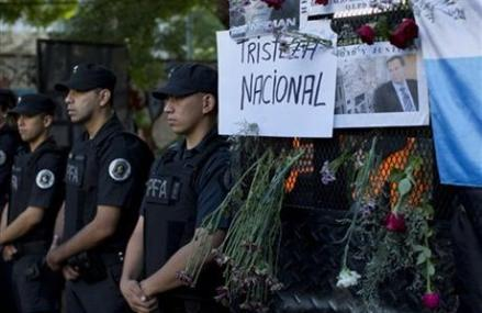 Test of gun finds only DNA of deceased Argentine prosecutor