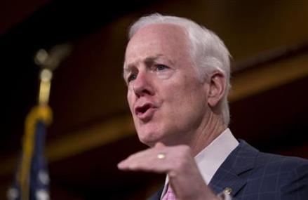 No. 2 Senate Republican proposing gun background check bill