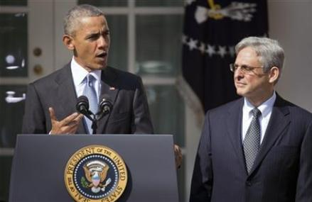 Obama nominates Judge Merrick Garland to Supreme Court