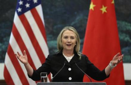 Clinton says US could 'ring China with missile defense'