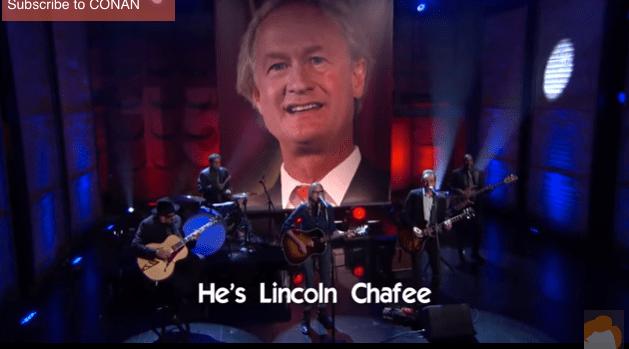 Governor Lincoln Chafee