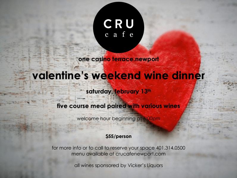 Cru Cafe Valentines