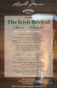 Vue Irish Dinner