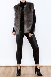 Twos Company Grey Fur Vest