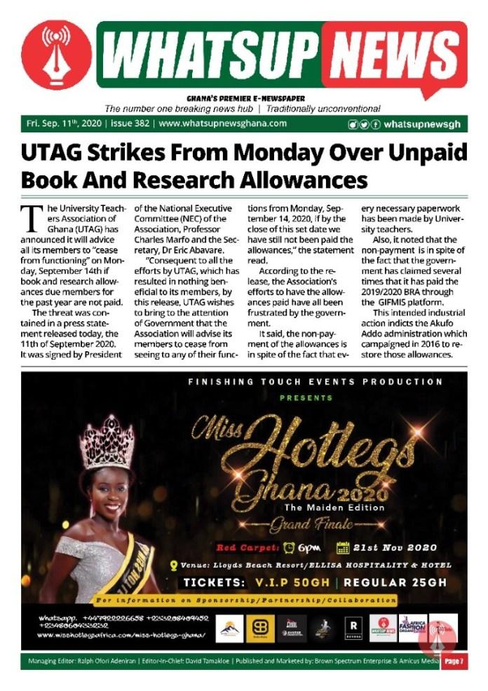 UTAG Strikes