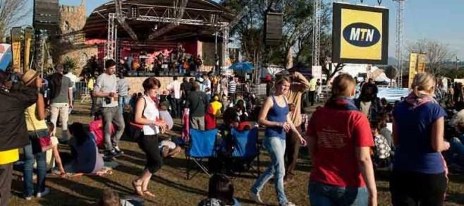 MTN Bushfire Music Festival Day